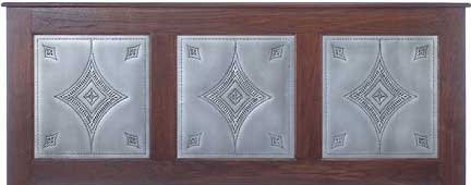The Three Punched Tin Panels Shown Are RP 1068.